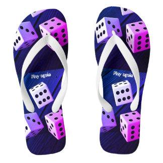 Dice 3D Thongs