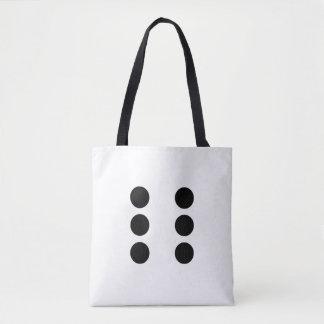 Dice 6 tote bag