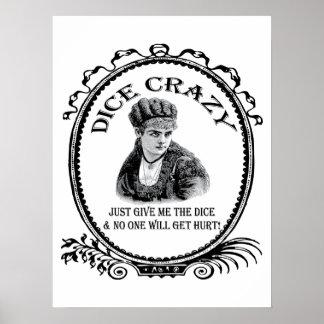 Dice Crazy Poster