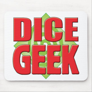Dice Geek v2 Mousepad