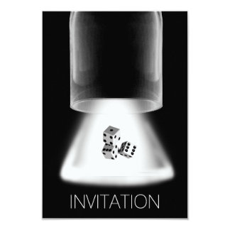 Dice Night Boys Night Out Invitation
