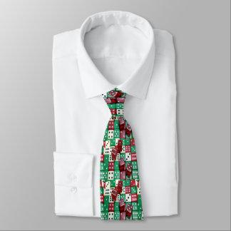 Dice Players Casino Wear Necktie