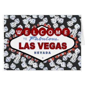 Dices are Loaded! Las Vegas Invitation Card