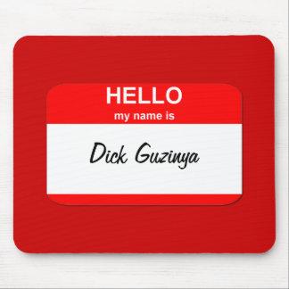 Dick Guzinya Mouse Pad