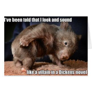 Dickens Villain card