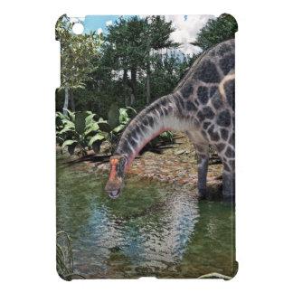 Dicraeosaurus Dinosaur Jungle Scene iPad Mini Cover