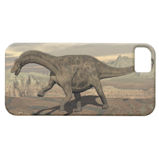 Dicraeosaurus dinosaur walking - 3D render Barely There iPhone 5 Case
