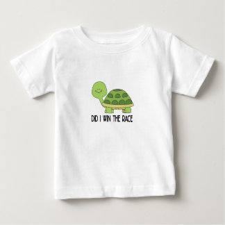 Did I Win The Race.png Baby T-Shirt