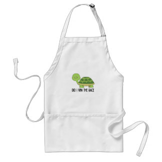 Did I Win The Race.png Standard Apron