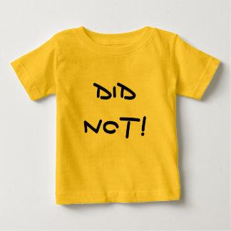 Did Not! Did Too! - Twin Tee