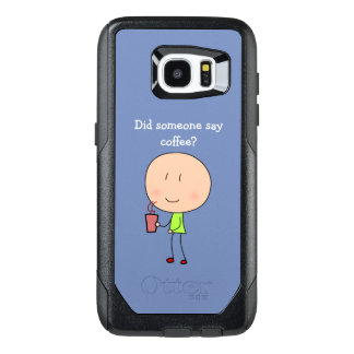 Did someone say coffee-Samsung Galaxy S7 Edge OtterBox Samsung Galaxy S7 Edge Case