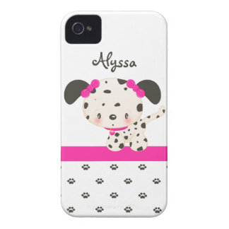 Diddles Dalmatian iPhone 4/4S Case-Mate Pink