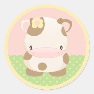 Diddles Farm Moo-Cow Sticker