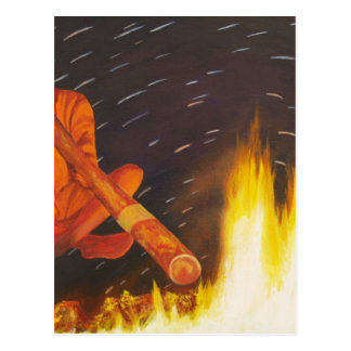 Didgeridoo Dreaming Postcard
