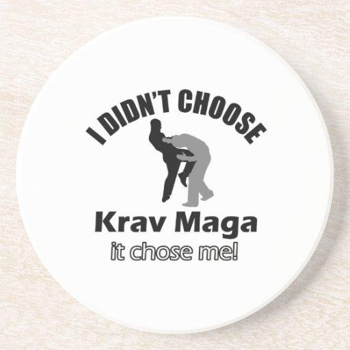 Didn't choose krav maga coasters