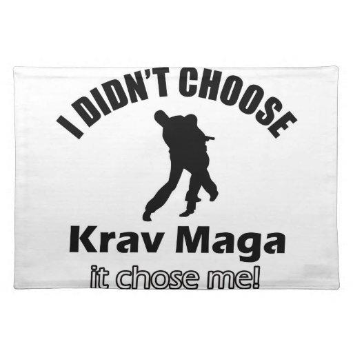 Didn't choose krav maga placemats