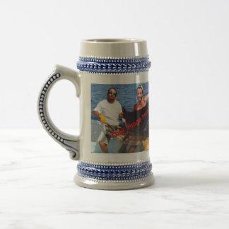 Didn't get away stein coffee mugs