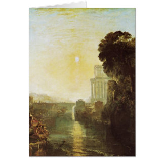 Dido Building Carthage Card