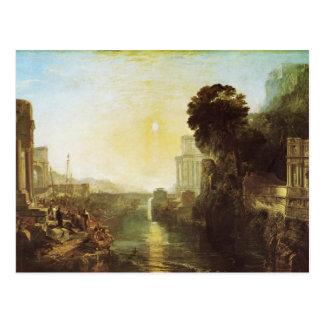 Dido Building Carthage Postcard