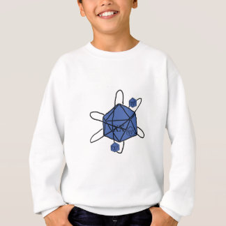 Die-Atom(Black,Blue) Sweatshirt