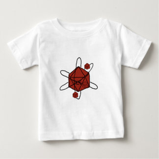 Die-Atom(Black,Red) Baby T-Shirt