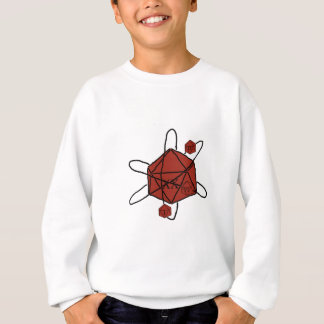 Die-Atom(Black,Red) Sweatshirt