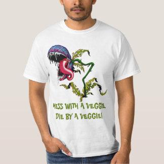 DIE BY A VEGGIE: CARNIVOROUS PLANT T-Shirt