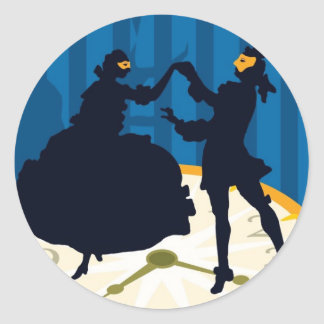 Die Fledermaus, Opera Classic Round Sticker