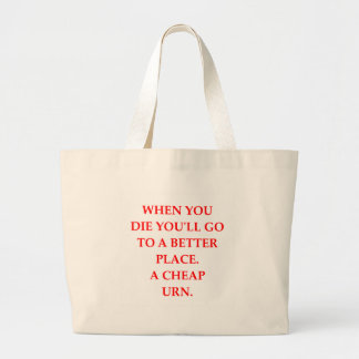 DIE LARGE TOTE BAG