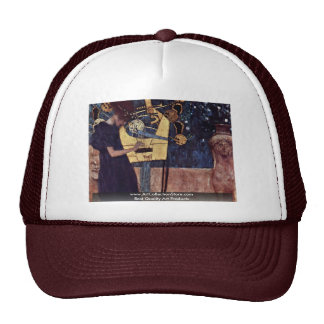 Die Musik By Klimt Gustav Trucker Hat
