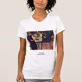 Die Musik By Klimt Gustav Tshirts