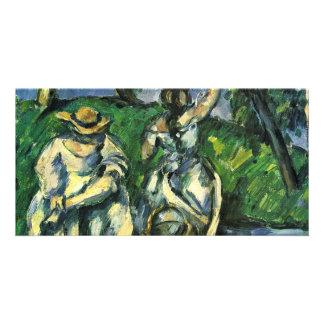 Die Obstpflückerin By Paul Cézanne (Best Quality) Photo Greeting Card