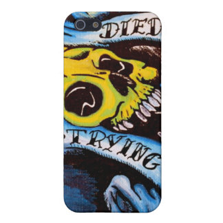 DIED TRYING IPHONE CASE iPhone 5 CASES