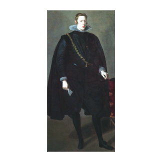 Diego Velázquez Philip IV, King of Spain Canvas Print