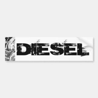 Diesel Bumper sticker