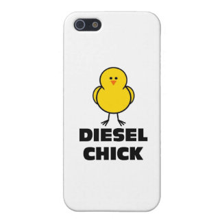 Diesel Chick iPhone 5/5S Cases