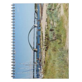 Diesel ICE on the Fehmarnsundbrücke Notebooks