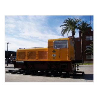Diesel Locomotive Almeria. Post Card