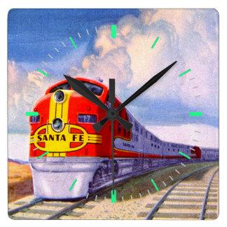 Diesel Locomotive Clocks