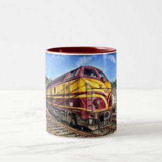 Diesel locomotive Mug