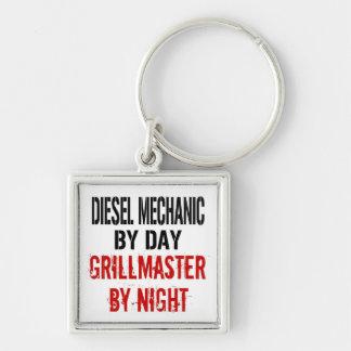 Diesel Mechanic Grillmaster Key Ring