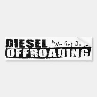 Diesel Offroading Bumper Sticker