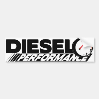 Diesel Preformance Bumper Sticker