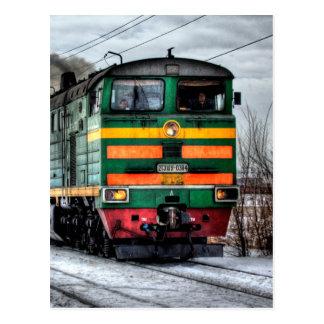 Diesel Train Locomotive Gifts Postcard