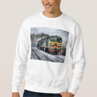Diesel Train Locomotive Gifts Sweatshirt