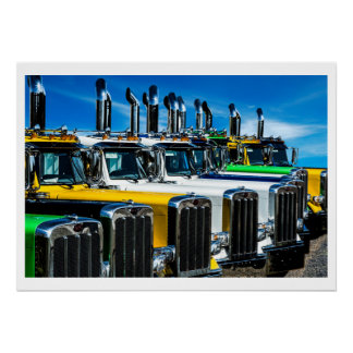 Diesel Trucks Poster