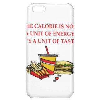 diet calorie joke iPhone 5C cases