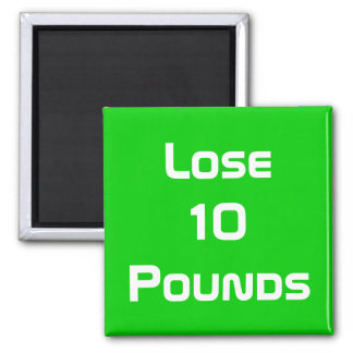 Diet Health And Fitness Goals Magnet