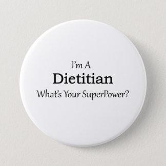 Dietician 7.5 Cm Round Badge