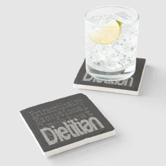 Dietitian Extraordinaire Stone Beverage Coaster